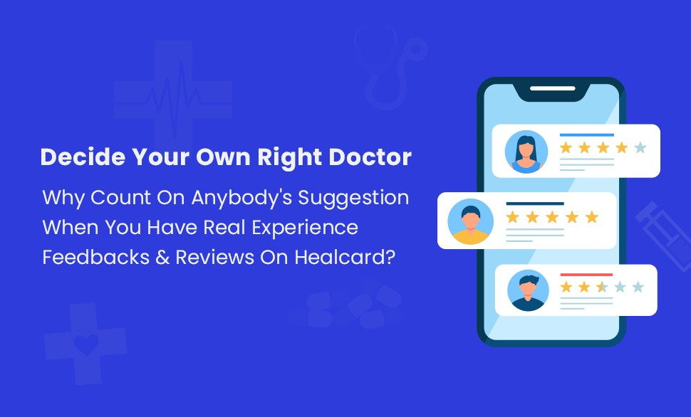 Image to show patient feedbacks are useful to choose the right doctor